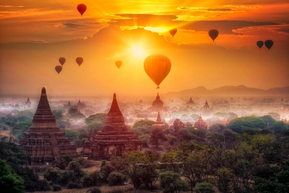 Myanmar is rich in Buddhist culture