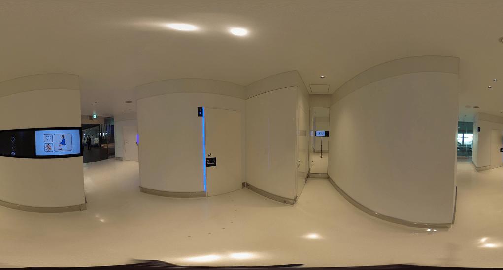 Narita Airport - Experience modern Japanese toilets