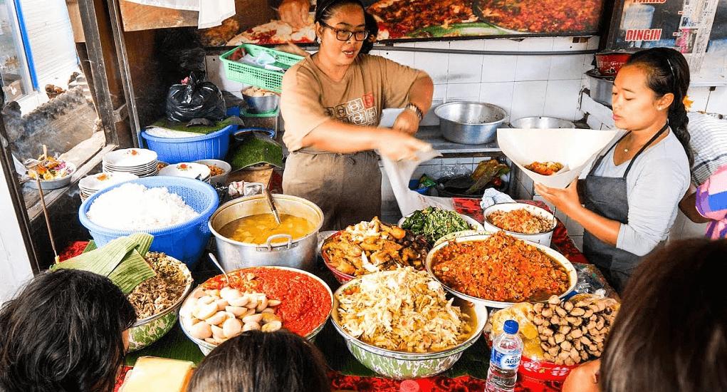 Nasi Campur Bali Men Weti