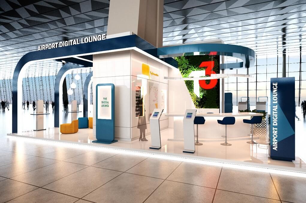 Fasilitas Digital Lounge