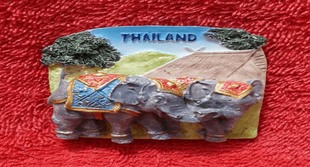 Oleh-oleh Khas Thailand - Mainan Magnet