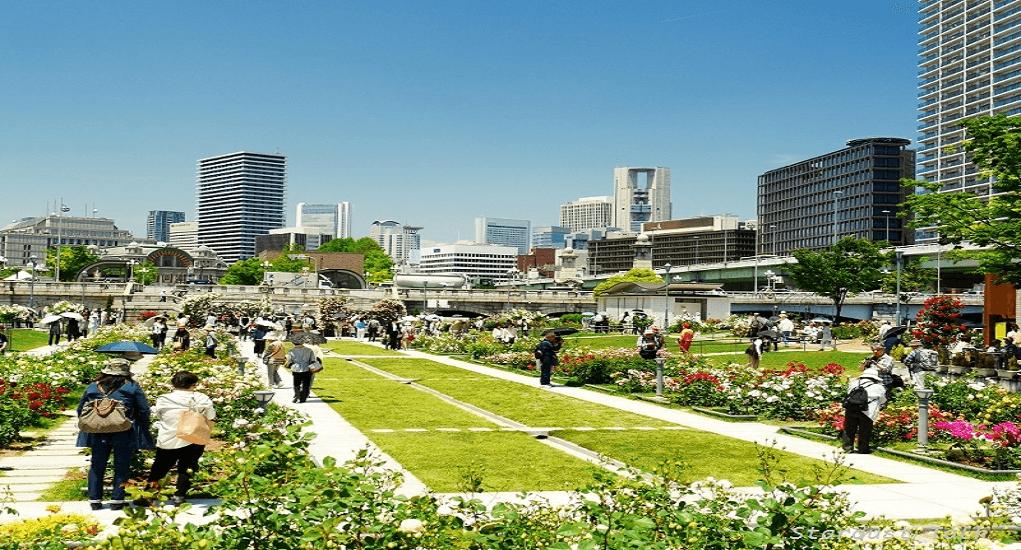 Osaka - Nakanoshima Park