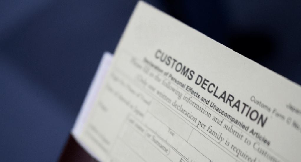 Pajak - Isi Form Custom Declaration