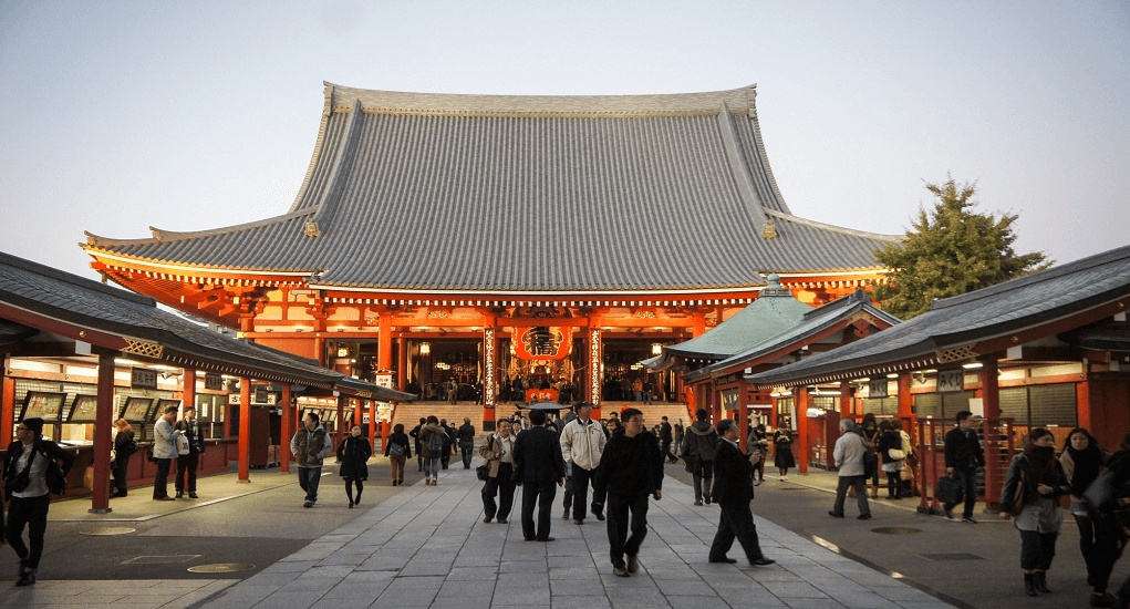 Panduan Traveling Murah ke Jepang - Asakusa