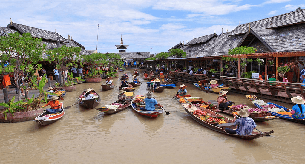 Pattaya - Floating Market