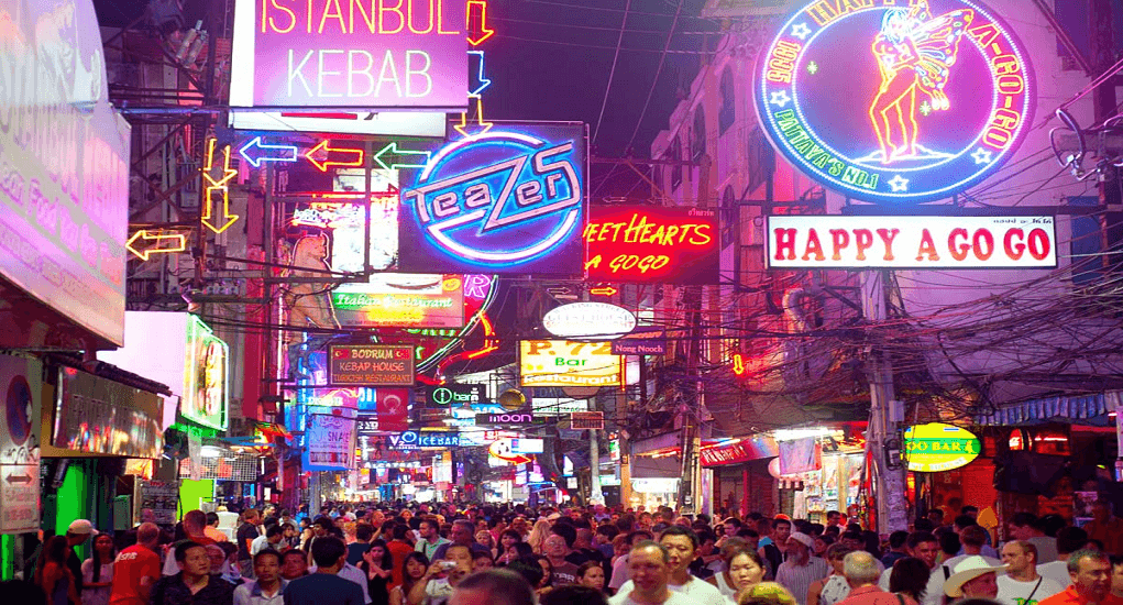 Pattaya Night Life and Tourist Destinations