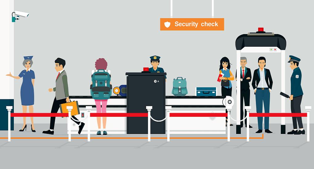 Pemeriksaan di Bandara - Berpenampilan Sopan dan Tidak Mencurigakan
