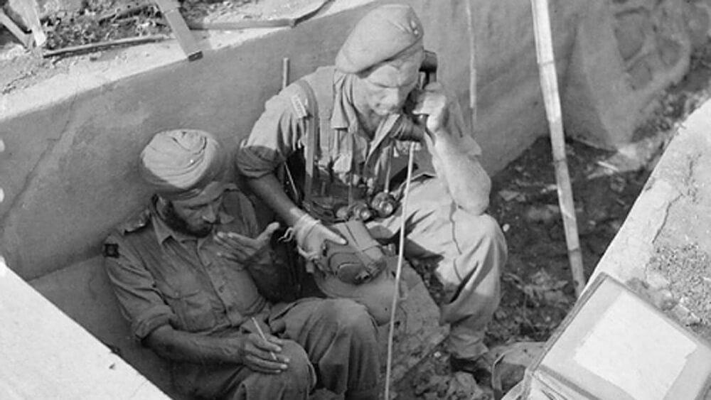 Tentara Sekutu yang melawan arek-arek Surabaya