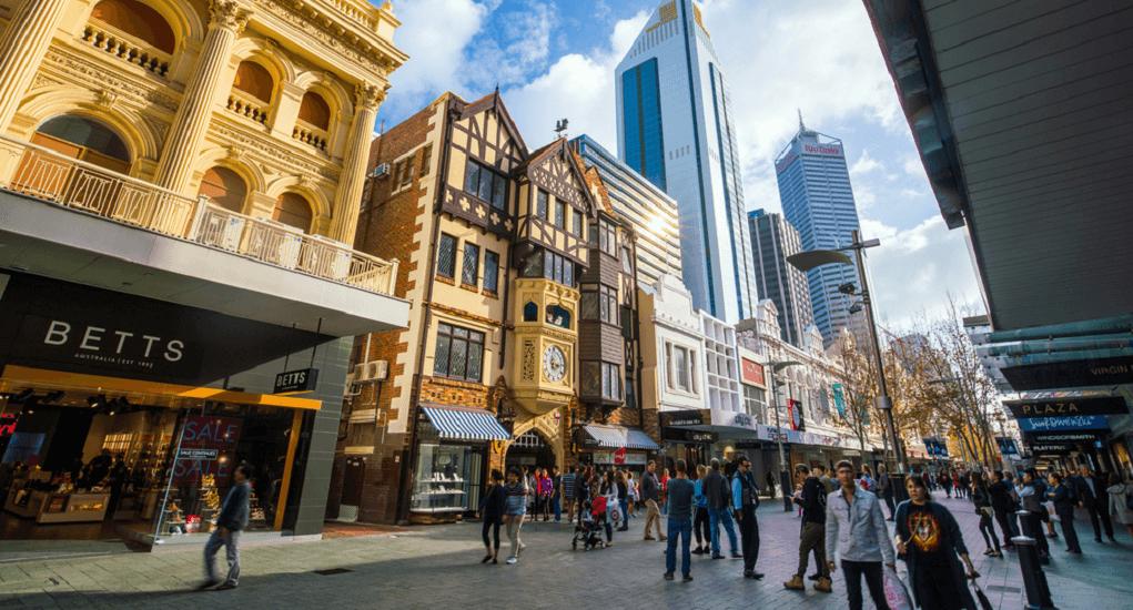 Perth - Mengelilingi Pusat Kota Perth dengan Berjalan Kaki
