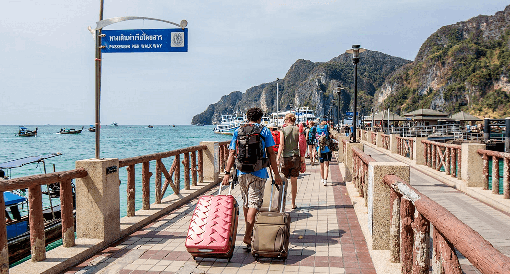 Phi-Phi Island - Going to the Island