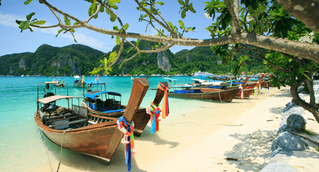 Phi-phi island -Going to the Island