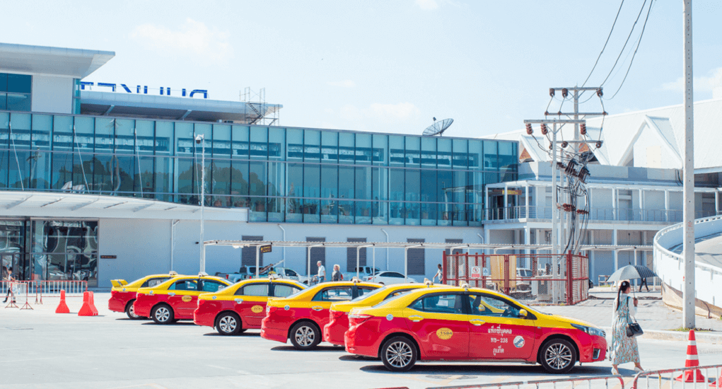Phuket Airport - Meter Taxi