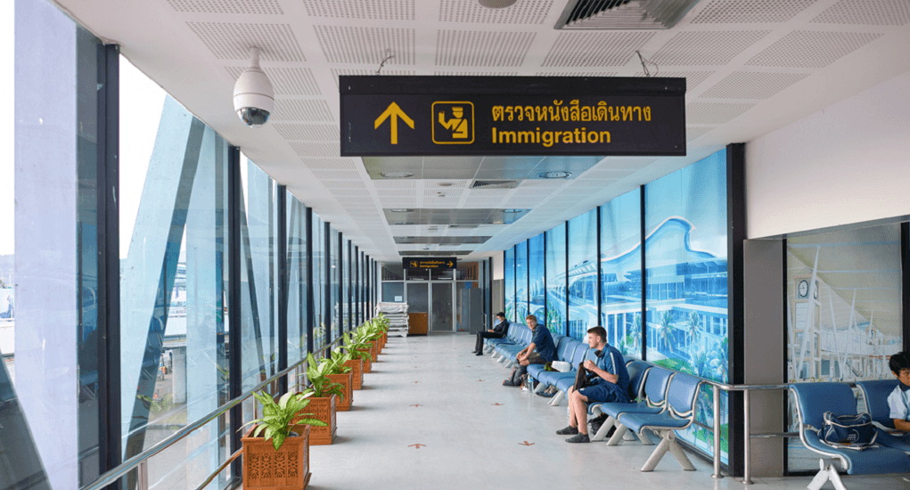 Phuket Airport - The Terminals
