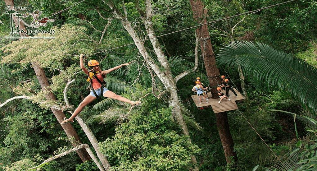 Phuket Destinations Place - Flying Hanuman
