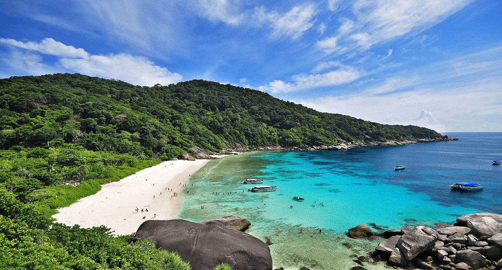 Phuket Destinations Place - Similans Island 1