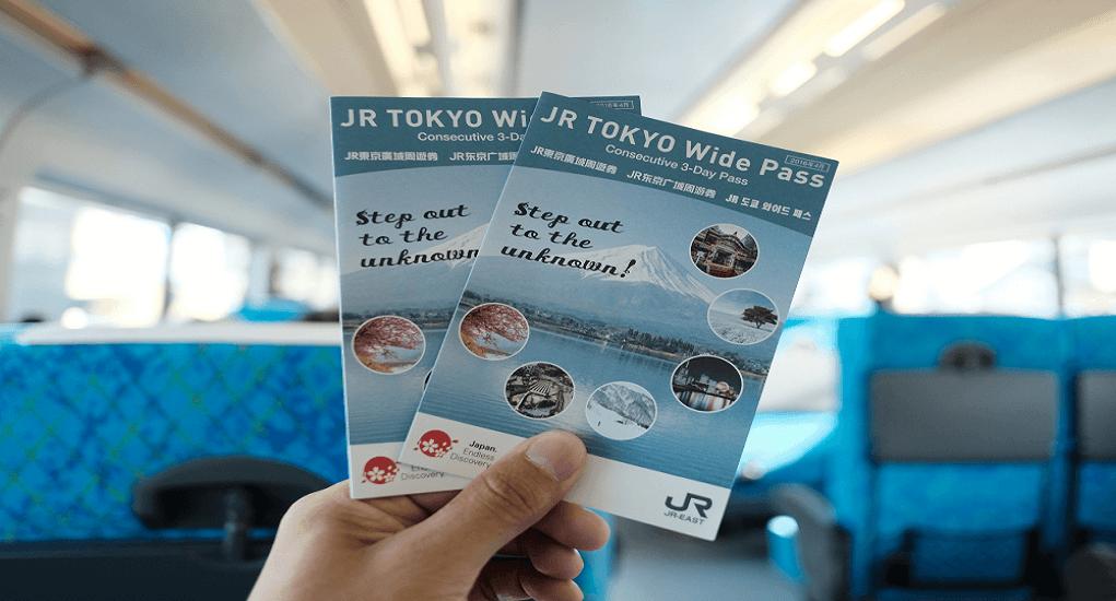 Public Transportation - JR Tokyo Wide Pass