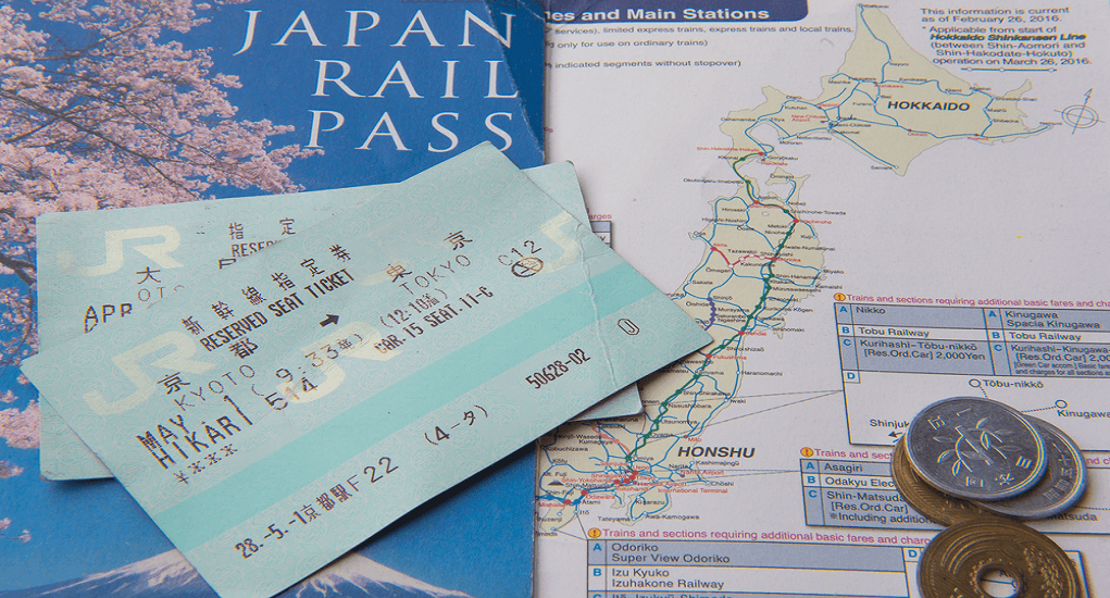 Public Transportation - Japan Rail Pass
