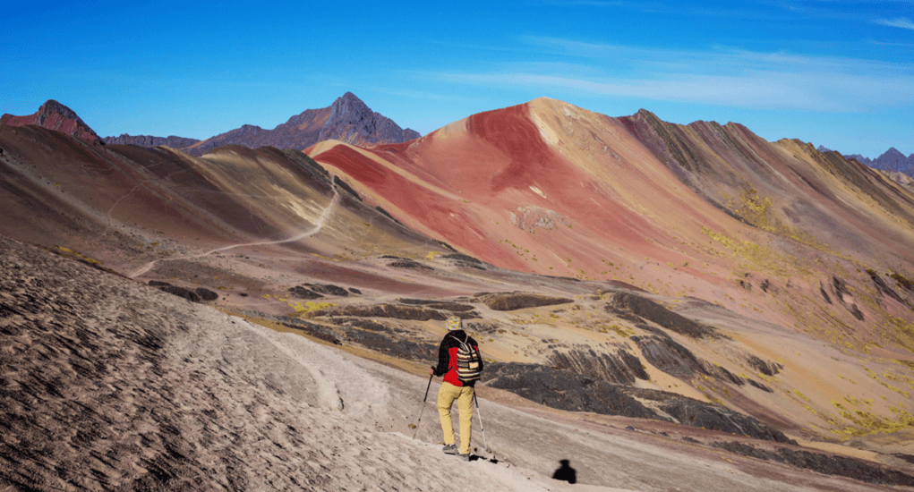 Rainbow Mountain - Enjoying the Trip