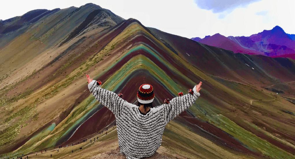 Rainbow Mountain - Enjoying the Trip