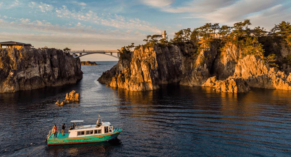Sado Island - Senkakuwan Bay