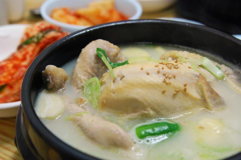 參雞湯 Samgyetang