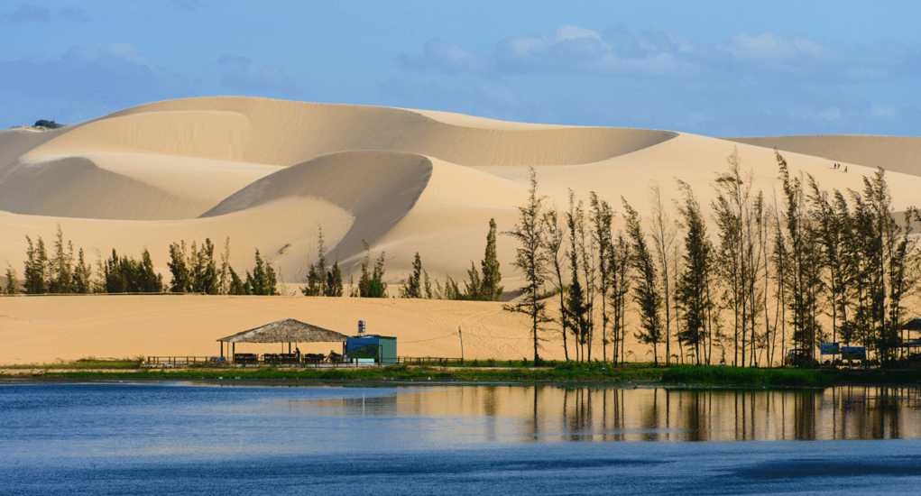 Sand Dunes of Mui Ne - The White Sand Dunes