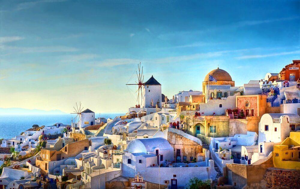 希腊 - Santorini圣托里尼岛