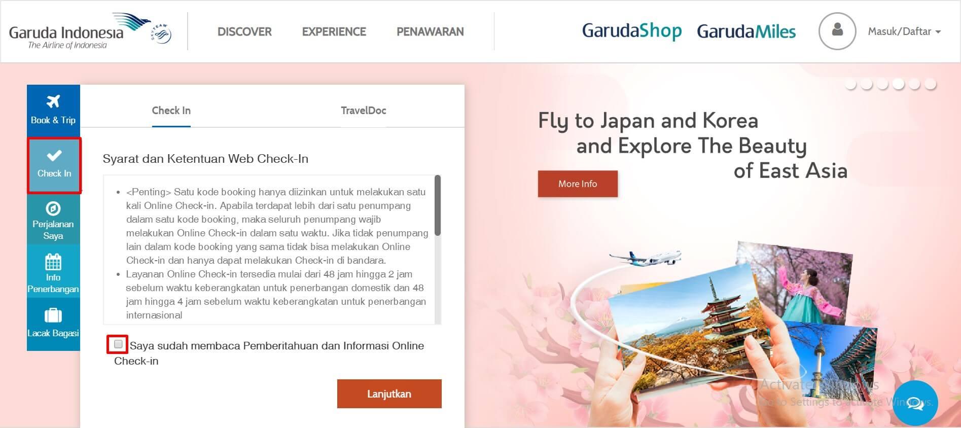 Buka Situs Website Garuda Indonesia