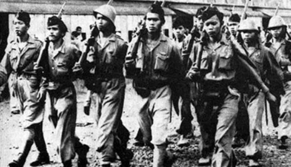 Para tentara yang ikut bertempur di Pertempuran 10 November