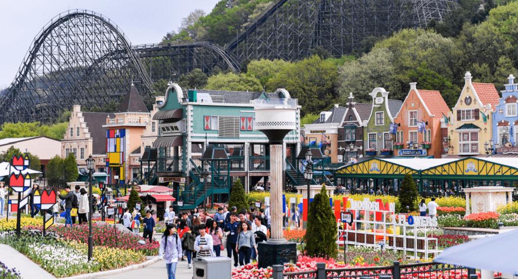 Seoul - Day 3 Everland Amusement Park