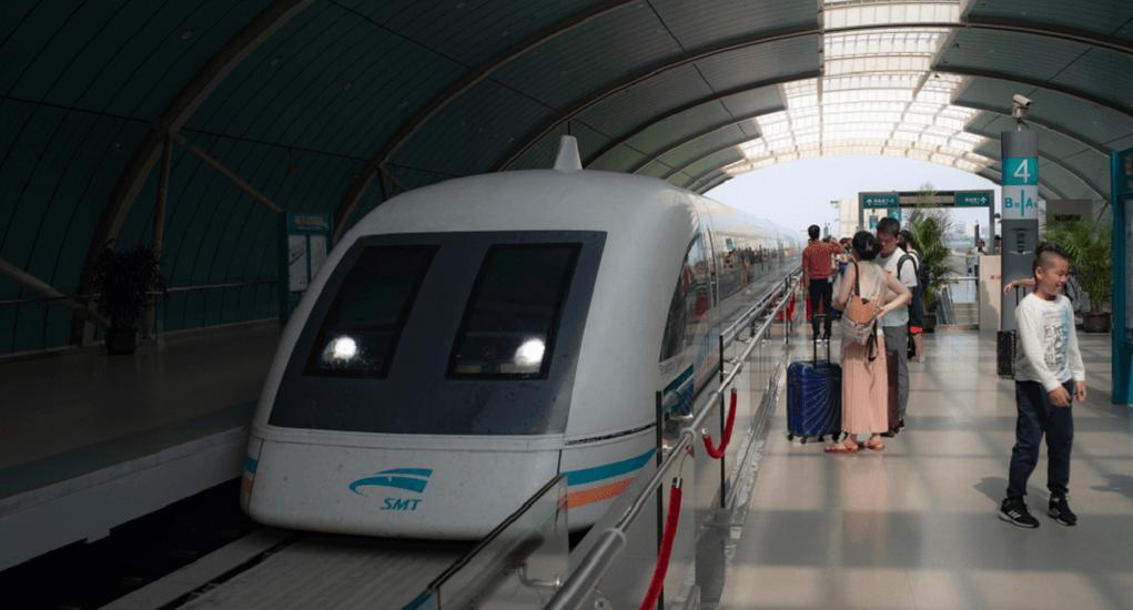 Shanghai Airport - The Trains