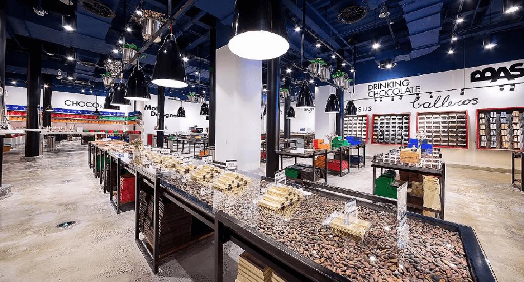 Shanghai Airport - Zotter Chocolate Theater