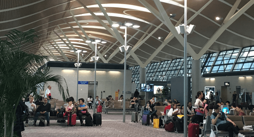 Shanghai International Airport - Watch the Time