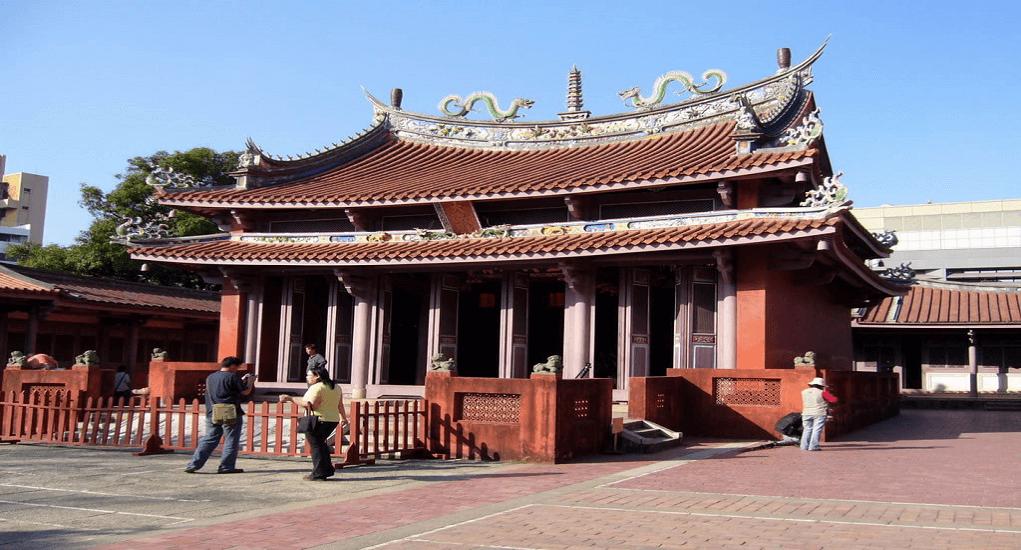 Shanghai - Kuil Shanghai Confucius