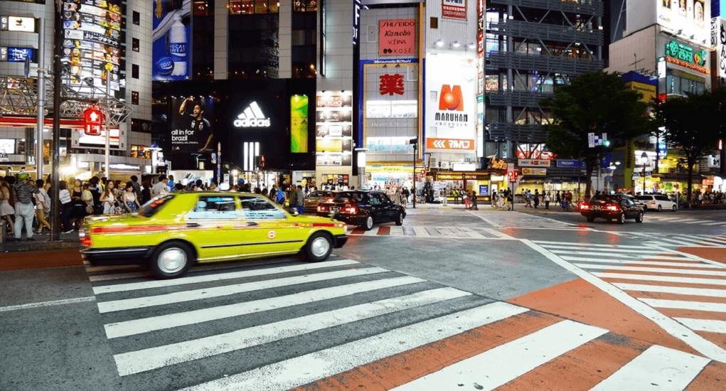 Shibuya Pedestrian Crossing - About Shibuya Crossing
