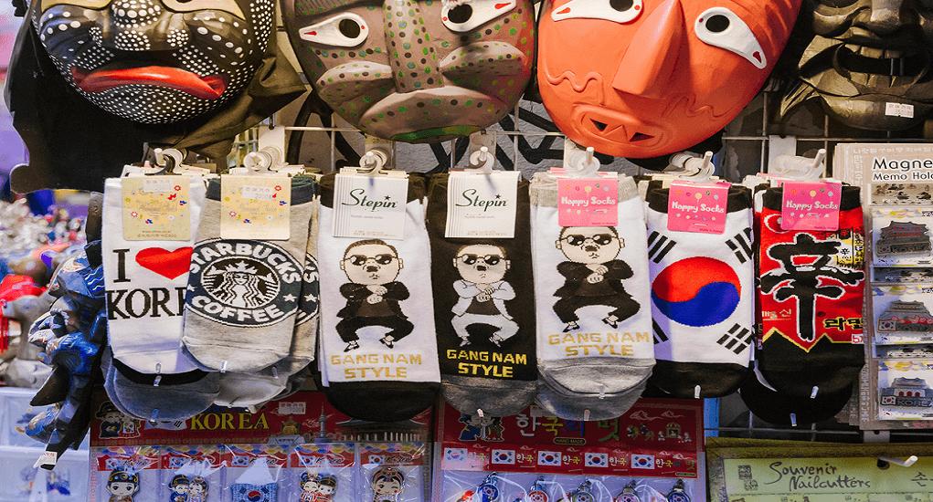 Shopping in Korea - Socks