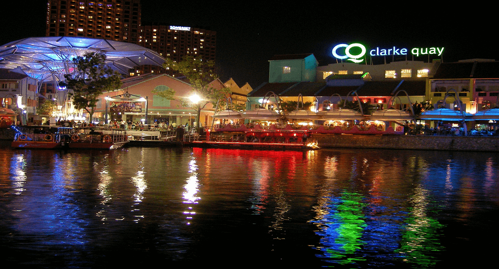 Shopping in Singapore - Liang Court Shopping Center in Clarke Quay