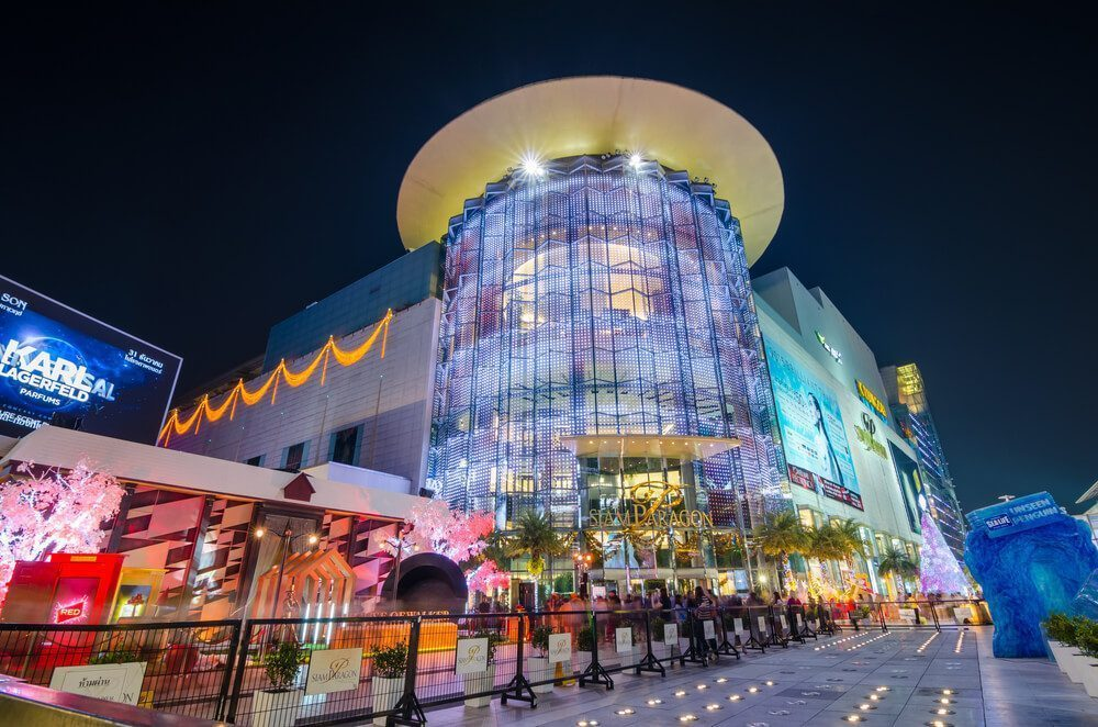 Enjoy a good shopping time at Siam Paragon Shopping Centre
