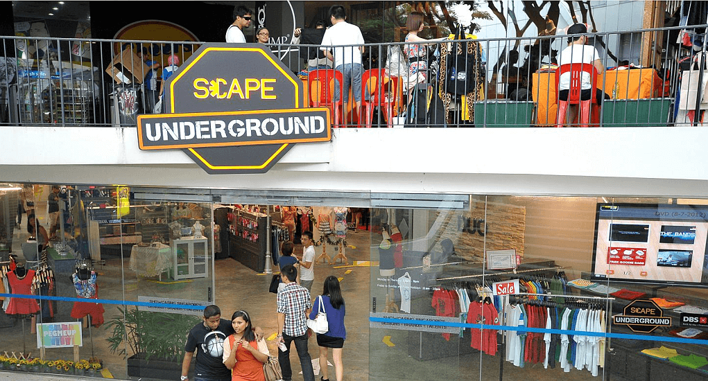 Singapore Cheapest Place - Scape Mall