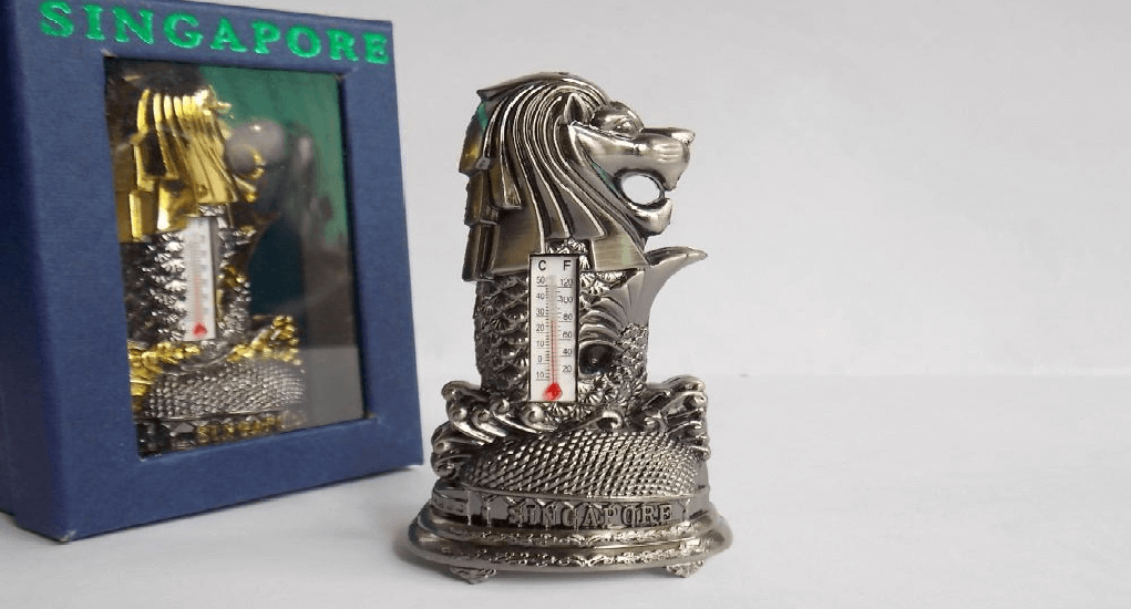 Singapore - Miniature Merlion Souvenirs