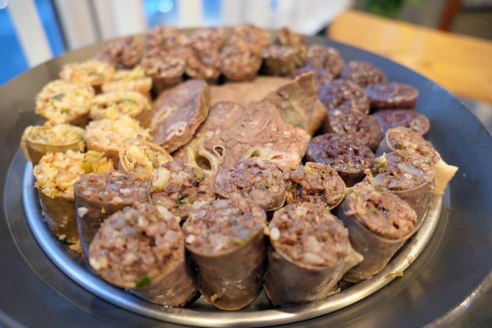 血肠内脏 Soondae