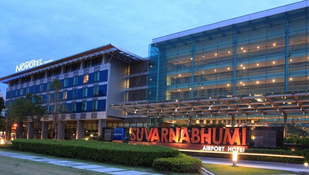 Spend your transit by resting in Suvarnabhumi Airport hotel