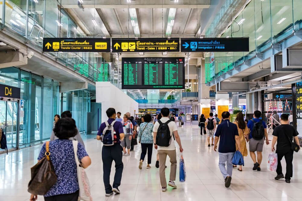 Learn the layout of Suvarnabhumi Airport, so you don't get lost