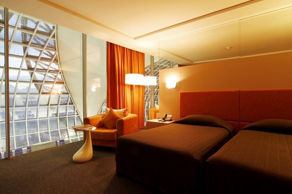 Miracle Transit Hotel is located in the International Departures Hall of Suvarnabhumi Airport