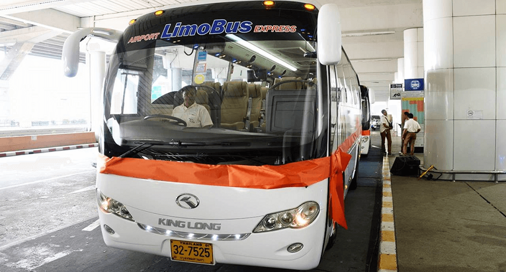 Suvarnabhumi transportation - Public Bus