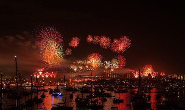 new year celebration in sydney
