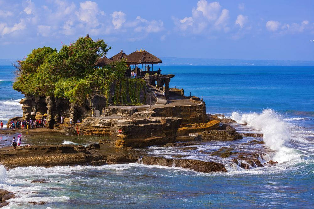 Tanah Lot Bali - Sacred Temple Above a Lone Island