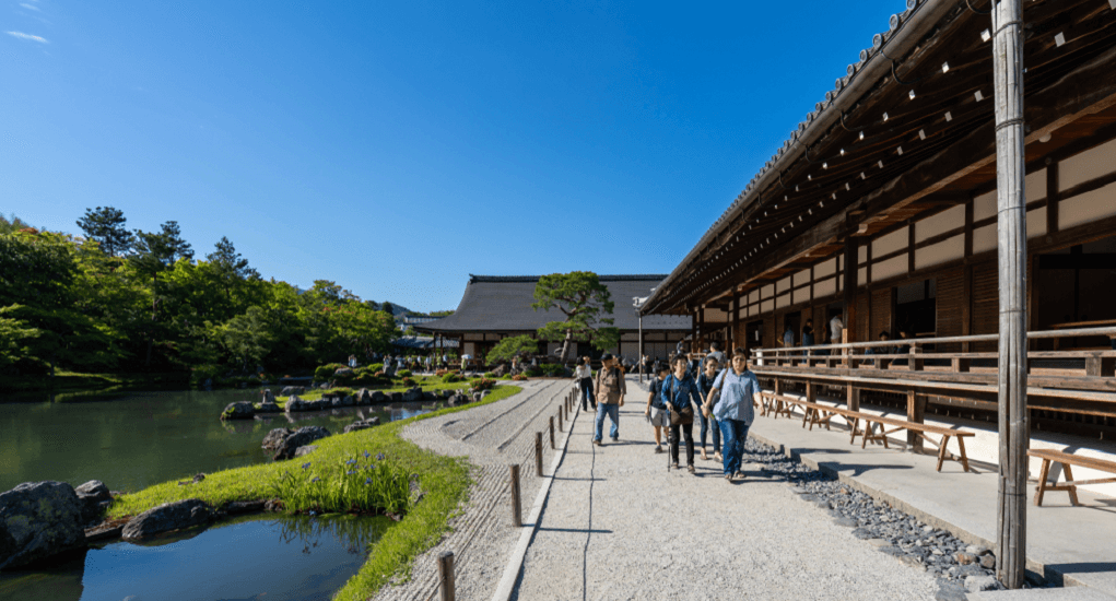 Tenryu-Ji Temple - The Long History