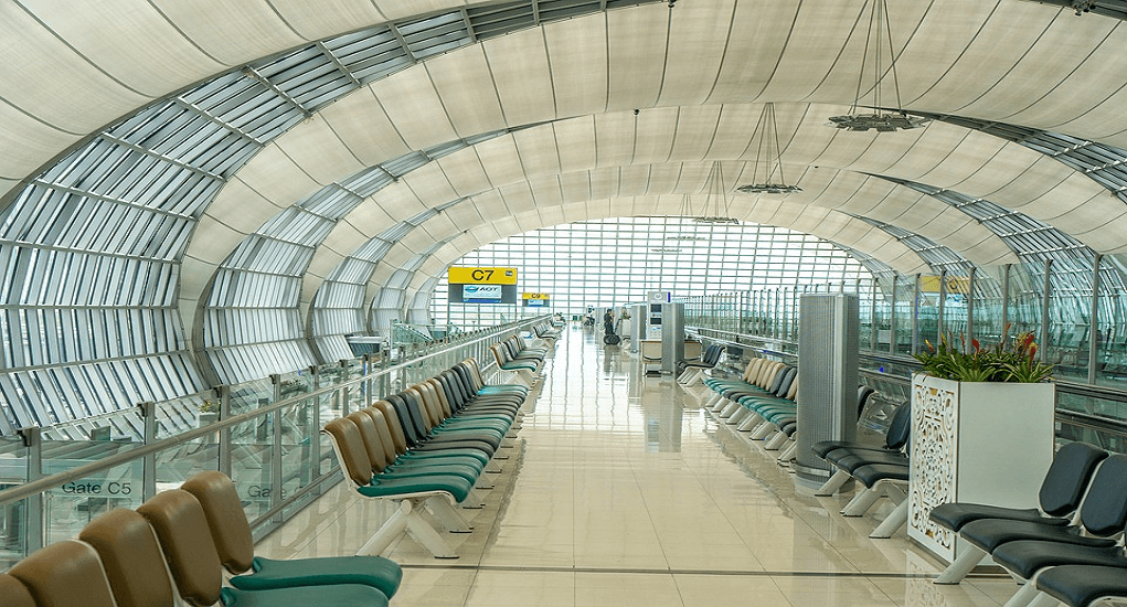 Terminal Bandara Suvarnabhumi - Terminal Domestik