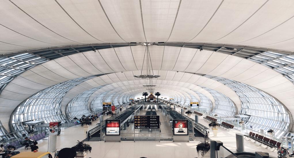 Terminal Bandara Suvarnabhumi - Terminal Internasional 1